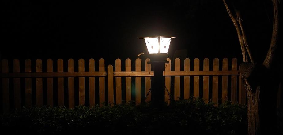 Nachtlicht für den Garten
