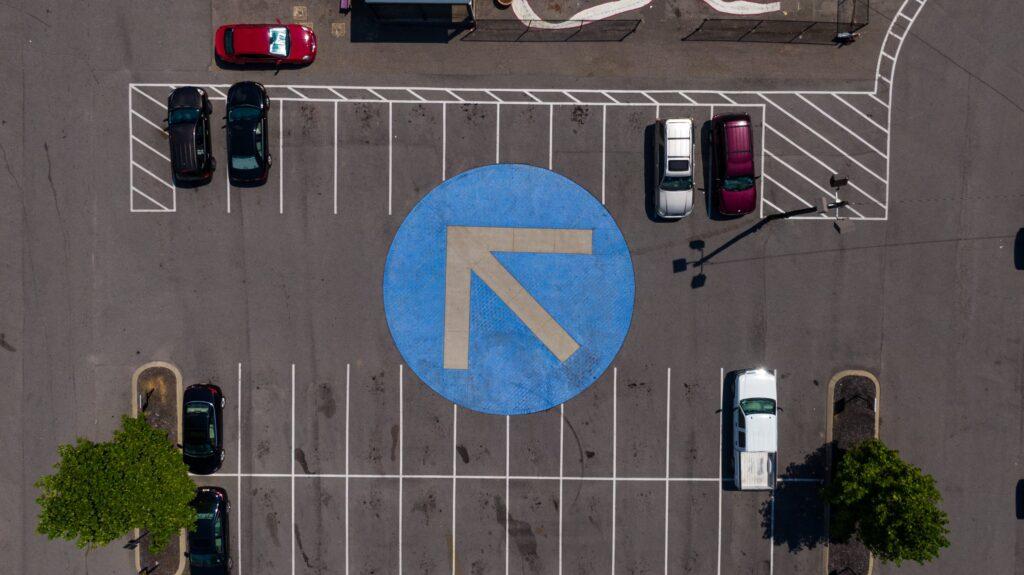 parkplatz absichern